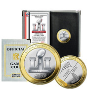 Super Bowl 51 Official Flip Coin
