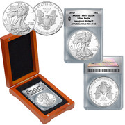 2017 PR70 Proof American Silver Eagle