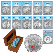 10 Years of SP70 American Silver Eagles