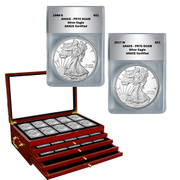Complete Set of PR70 Proof American Silver Eagles