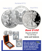 2017 Silver Eagle Collector's Set–SAVE $100