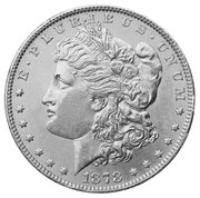 1878 Morgan Dollar - First Year of Issue - BU Condition