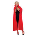 "Red Long Cape Adult  56"" 4520"