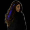 Blue Starlight Fiber Optic Hair Extensions 6166