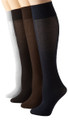 DOZEN Opaque Knee Highs Mix Colors 8100