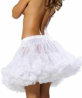 White Petticoat Left Side