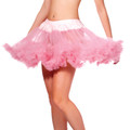 Pink Double Layer Tulle Petticoat 8219