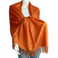 Orange Pashmina Shawl 2109