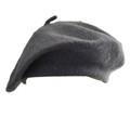 Grey Wool Beret 1366