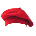 Red Wool Beret 1370