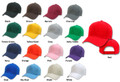 Baseball Caps Bulk Mixed Colors Bulk Dozen 1380A