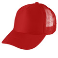 Red Mesh Trucker Cap 1463
