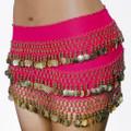 Hot Pink Bellydance Gypsy Scarf 2060