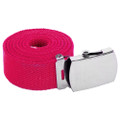 Hot Pink Canvas Adjustable Belt 2213