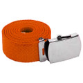 Orange Canvas Adjustable Belt 2218