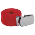 Red Canvas Adjustable Belt 2220