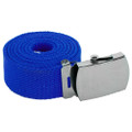 Royal Blue Canvas Belt Adjustable 2221
