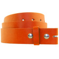 Orange Buckle-less Belts | For Buckles Dozen Mix Sizes 2340A