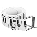 DOZEN White Piano Belts Mix Sizes 2396A