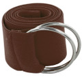Brown Stretch D-Ring Belt 2684