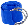 Royal Blue Stretch D-Ring Belt 2698