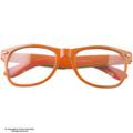 Clear Lens Orange Wayfarer Party Style Sunglasses 1084