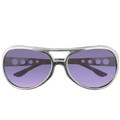Elvis Style RockStar Sunglasses Purple 1134