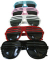 DOZEN Half Shutter Shades Mix Colors 1150