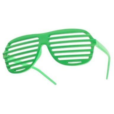 Green Shutter Shades