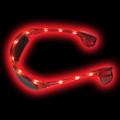 Red Rave LED Aviator Style Sunglasses 7101