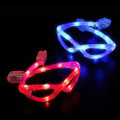 Wrap Around Glasses LED Mix Colors DOZEN 7104A