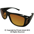 HD Vision Wrap Around Sunglasses 1180