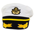 Admiral Yacht Hat with Yellow Band 1340