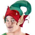 Felt Elf Hat with Jingle Bell Adult 1418