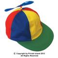 Child Multi-colored Propeller Cap 1560