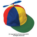 Child Multi-colored Propeller Cap 1560