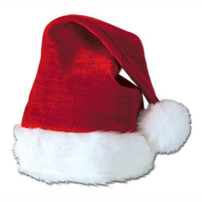 Discount Child Santa Hat | Plush Santa Hats for Kids
