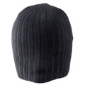 Short Cable Beanie Black 5710