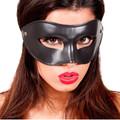 Black Venetian Party Mask 1660F