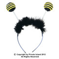 Sequin Bee Antenna Headband 1686