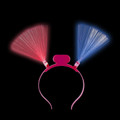 LED Pink Bopper Headband 1857