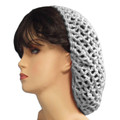 White Crochet Hair Snood 6626