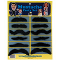 144 Bulk Pieces Fake Mustaches Party Set 1621