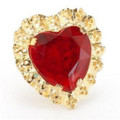 Costume Jewelry Queen Of Hearts Ring 6563