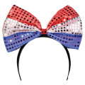 4th of July LED Bowtie Headband 1874