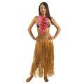Hula Skirt Dress Hawaiian Tropical Luau Skirt 1716