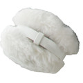 White Furry Ear Warmers 6706