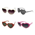 DOZEN Child Lolita Heart Shape Sunglasses Mix Colors 1020
