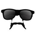 Incognito Sunglasses S2 Black Mustache Wayfarer 7099
