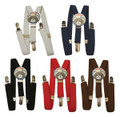 DOZEN Child Suspenders Mix Colors 1295A